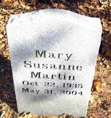 MARTIN, MARY SUSANNE - Van Buren County, Arkansas | MARY SUSANNE MARTIN - Arkansas Gravestone Photos