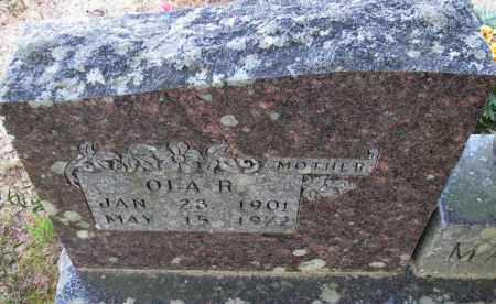 HEFNER MATHIS, OLA R - Van Buren County, Arkansas | OLA R HEFNER MATHIS - Arkansas Gravestone Photos