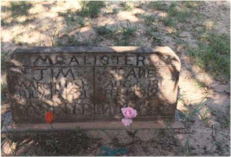 "MCALISTER, JAMES RICHARD ""JIM"" - Van Buren County, Arkansas | JAMES RICHARD ""JIM"" MCALISTER - Arkansas Gravestone Photos"