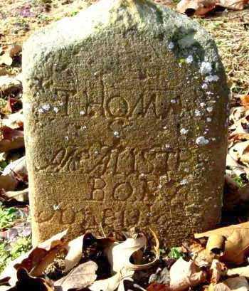 MCALISTER, THOMAS S - Van Buren County, Arkansas | THOMAS S MCALISTER - Arkansas Gravestone Photos
