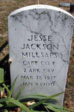 MILLSAPS (VETERAN UNION), JESSE JACKSON - Van Buren County, Arkansas | JESSE JACKSON MILLSAPS (VETERAN UNION) - Arkansas Gravestone Photos
