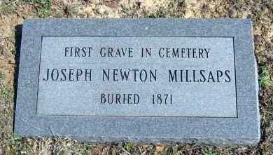 MILLSAPS, JOSEPH NEWTON - Van Buren County, Arkansas   JOSEPH NEWTON MILLSAPS - Arkansas Gravestone Photos