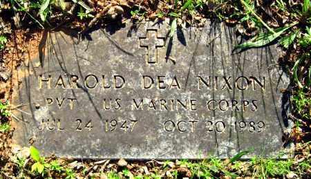 NIXON (VETERAN), HAROLD DEA - Van Buren County, Arkansas   HAROLD DEA NIXON (VETERAN) - Arkansas Gravestone Photos