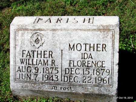 PARISH, WILLIAM R - Van Buren County, Arkansas | WILLIAM R PARISH - Arkansas Gravestone Photos