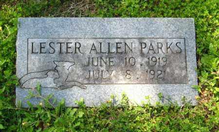 PARKS, LESTER ALLEN - Van Buren County, Arkansas   LESTER ALLEN PARKS - Arkansas Gravestone Photos