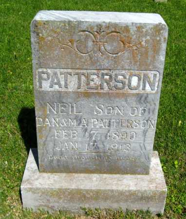 PATTERSON, NEIL - Van Buren County, Arkansas   NEIL PATTERSON - Arkansas Gravestone Photos