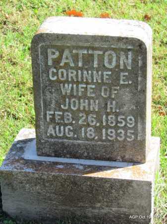 PATTON, CORINNE E - Van Buren County, Arkansas   CORINNE E PATTON - Arkansas Gravestone Photos