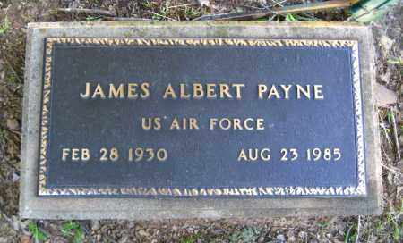 PAYNE  (VETERAN), JAMES ALBERT - Van Buren County, Arkansas | JAMES ALBERT PAYNE  (VETERAN) - Arkansas Gravestone Photos