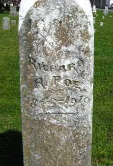 POE (VETERAN CSA), RICHARD R - Van Buren County, Arkansas   RICHARD R POE (VETERAN CSA) - Arkansas Gravestone Photos
