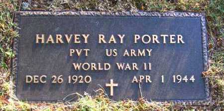 PORTER  (VETERAN WWII), HARVEY RAY - Van Buren County, Arkansas | HARVEY RAY PORTER  (VETERAN WWII) - Arkansas Gravestone Photos
