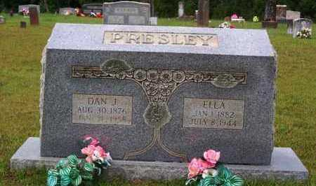 PRESLEY, DAN J - Van Buren County, Arkansas   DAN J PRESLEY - Arkansas Gravestone Photos