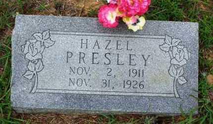 PRESLEY, HAZEL - Van Buren County, Arkansas | HAZEL PRESLEY - Arkansas Gravestone Photos