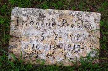 PRESLEY, IMOGENE - Van Buren County, Arkansas   IMOGENE PRESLEY - Arkansas Gravestone Photos
