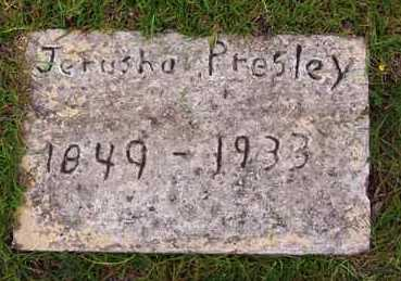 PRESLEY, JERUSHA - Van Buren County, Arkansas | JERUSHA PRESLEY - Arkansas Gravestone Photos