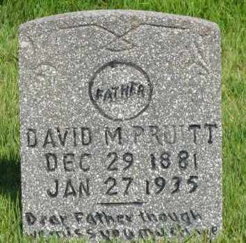 PRUITT, DAVID M - Van Buren County, Arkansas   DAVID M PRUITT - Arkansas Gravestone Photos
