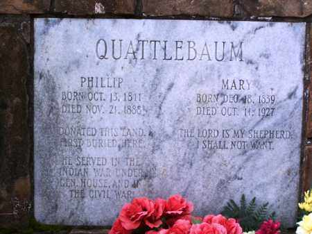 QUATTLEBAUM, PHILLIP - Van Buren County, Arkansas | PHILLIP QUATTLEBAUM - Arkansas Gravestone Photos