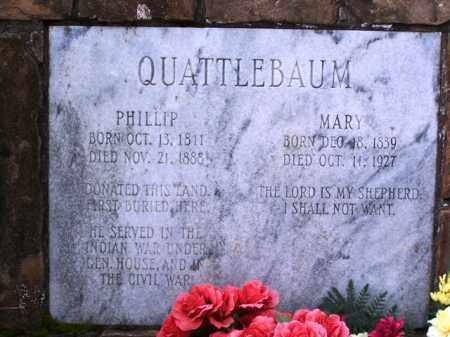 QUATTLEBAUM, MARY - Van Buren County, Arkansas | MARY QUATTLEBAUM - Arkansas Gravestone Photos