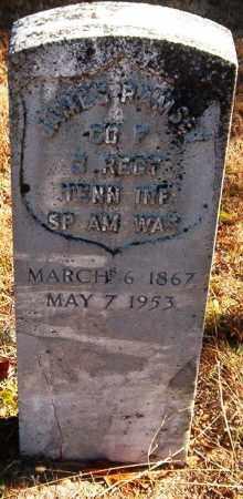 RAMSEY  (VETERAN SAW), JAMES P - Van Buren County, Arkansas | JAMES P RAMSEY  (VETERAN SAW) - Arkansas Gravestone Photos