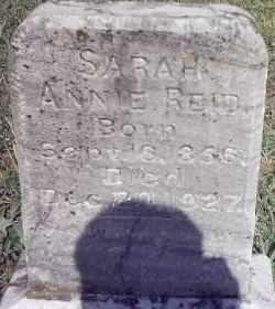 REID, SARAH ANNIE - Van Buren County, Arkansas | SARAH ANNIE REID - Arkansas Gravestone Photos