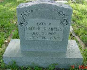 SHEETS, DELBERT - Van Buren County, Arkansas | DELBERT SHEETS - Arkansas Gravestone Photos