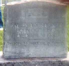 STRACNER, EMILEY A. - Van Buren County, Arkansas | EMILEY A. STRACNER - Arkansas Gravestone Photos