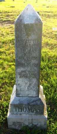 THOMAS, ANGELETH ELIZABETH - Van Buren County, Arkansas | ANGELETH ELIZABETH THOMAS - Arkansas Gravestone Photos