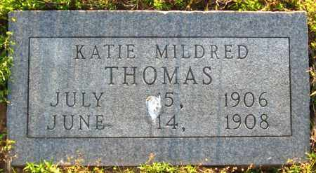 THOMAS, KATIE MILDRED - Van Buren County, Arkansas | KATIE MILDRED THOMAS - Arkansas Gravestone Photos