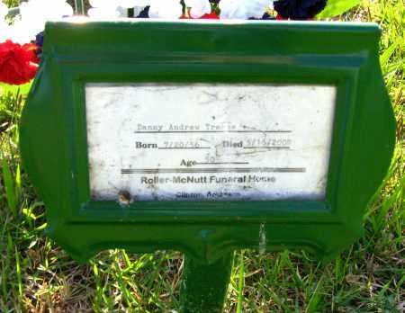 TREECE, DANNY ANDREW - Van Buren County, Arkansas | DANNY ANDREW TREECE - Arkansas Gravestone Photos