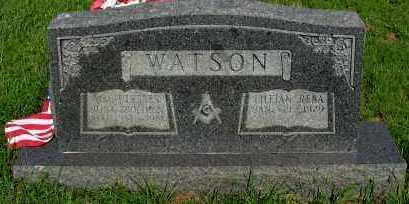 WATSON, W ULYSSES - Van Buren County, Arkansas   W ULYSSES WATSON - Arkansas Gravestone Photos