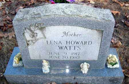 HOWARD WATTS, LENA - Van Buren County, Arkansas | LENA HOWARD WATTS - Arkansas Gravestone Photos