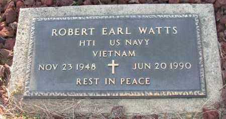 WATTS (VETERAN VIET), ROBERT EARL - Van Buren County, Arkansas | ROBERT EARL WATTS (VETERAN VIET) - Arkansas Gravestone Photos