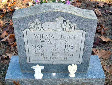 WATTS, WILMA JEAN - Van Buren County, Arkansas | WILMA JEAN WATTS - Arkansas Gravestone Photos