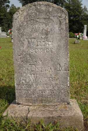 WATTS, WILLIE - Van Buren County, Arkansas | WILLIE WATTS - Arkansas Gravestone Photos