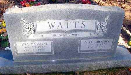 WATTS, ZURA MAGALENE - Van Buren County, Arkansas | ZURA MAGALENE WATTS - Arkansas Gravestone Photos