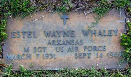 WHALEY (VETERAN), ESTEL WAYNE - Van Buren County, Arkansas | ESTEL WAYNE WHALEY (VETERAN) - Arkansas Gravestone Photos