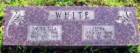 WHITE, LEONA - Van Buren County, Arkansas | LEONA WHITE - Arkansas Gravestone Photos