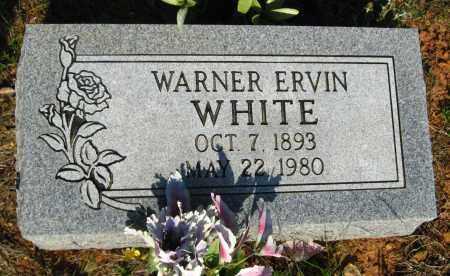 WHITE, WARNER ERVIN - Van Buren County, Arkansas | WARNER ERVIN WHITE - Arkansas Gravestone Photos