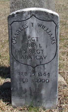 WILLIAMS  (VETERAN UNION), CHARLES T - Van Buren County, Arkansas | CHARLES T WILLIAMS  (VETERAN UNION) - Arkansas Gravestone Photos