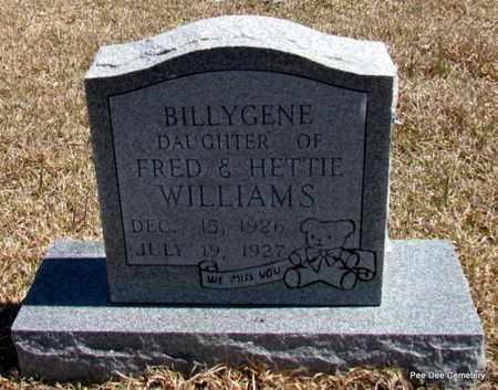 WILLIAMS, BILLYGENE - Van Buren County, Arkansas | BILLYGENE WILLIAMS - Arkansas Gravestone Photos