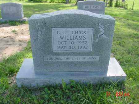 """WILLIAMS, C L """"CHICK"""" - Van Buren County, Arkansas   C L """"CHICK"""" WILLIAMS - Arkansas Gravestone Photos"""