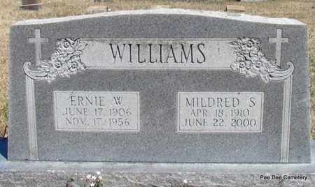 WILLIAMS, ERNIE W - Van Buren County, Arkansas   ERNIE W WILLIAMS - Arkansas Gravestone Photos