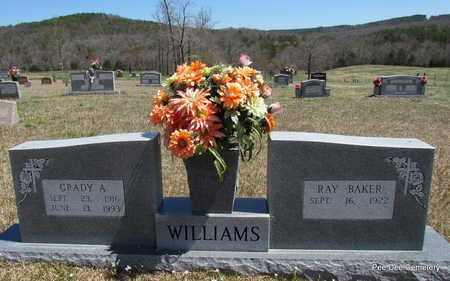 WILLIAMS, GRADY A (OVERVIEW) - Van Buren County, Arkansas   GRADY A (OVERVIEW) WILLIAMS - Arkansas Gravestone Photos
