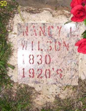 WILSON, NANCY - Van Buren County, Arkansas | NANCY WILSON - Arkansas Gravestone Photos