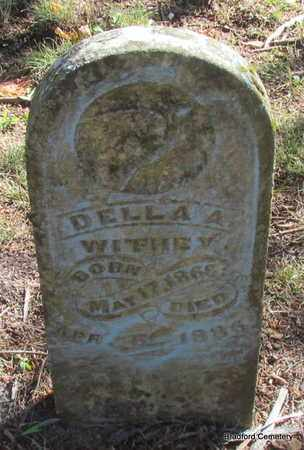 WITHEY, DELLA A - Van Buren County, Arkansas | DELLA A WITHEY - Arkansas Gravestone Photos