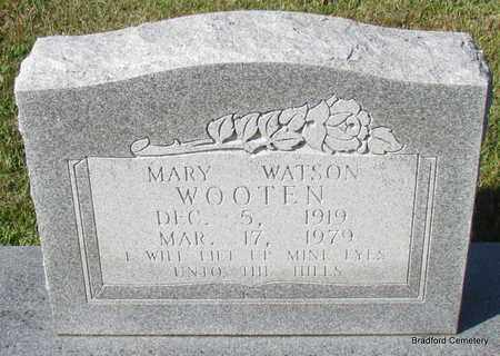 WOOTEN, MARY - Van Buren County, Arkansas | MARY WOOTEN - Arkansas Gravestone Photos