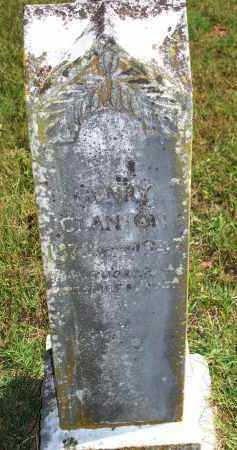 CLANTON, HENRY - Washington County, Arkansas | HENRY CLANTON - Arkansas Gravestone Photos