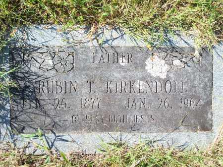 KIRKENDOLL, RUBIN T - Washington County, Arkansas | RUBIN T KIRKENDOLL - Arkansas Gravestone Photos