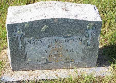 MCBROOM, MARY E - Washington County, Arkansas | MARY E MCBROOM - Arkansas Gravestone Photos