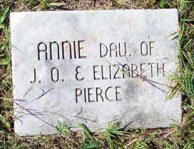 PIERCE, ANNIE - Washington County, Arkansas   ANNIE PIERCE - Arkansas Gravestone Photos