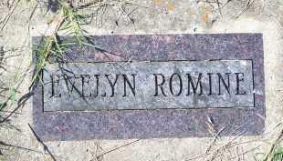 ROMINE, EVELYN - Washington County, Arkansas   EVELYN ROMINE - Arkansas Gravestone Photos